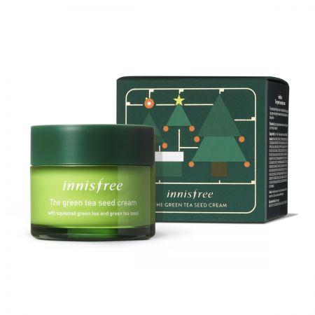 innisfree X-MAS綠茶籽潤澤保溼霜 100ml,NT1120