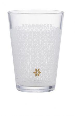 冰晶雪花玻璃杯