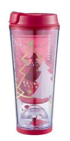 耶誕祝福雪球趣味杯