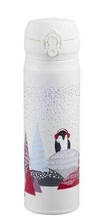 森林企鵝隨身瓶