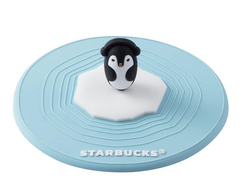 極地企鵝矽膠杯蓋