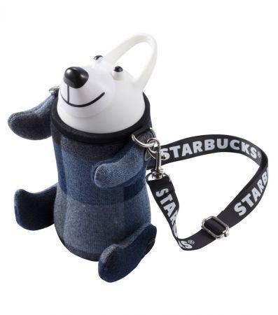 藍北極熊SS吸管水壺
