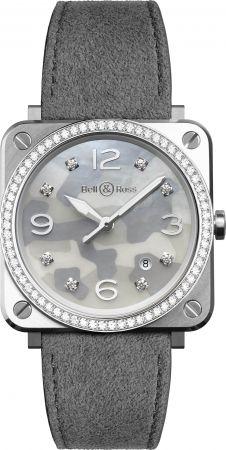 BRS Camo 系列腕錶,迷彩圖案面盤,Bell & Ross。
