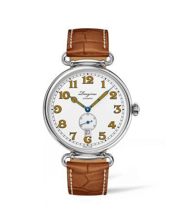浪琴表復刻系列1918 復刻男仕腕錶