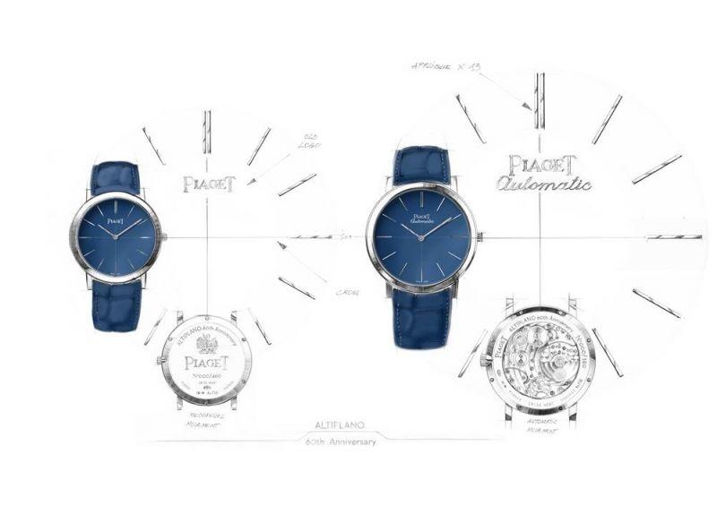 Piaget Altiplano 六十周年系列腕錶