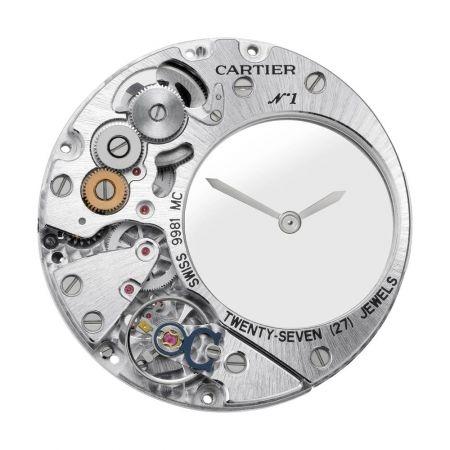 Panthere Mysterieuse 美洲豹神秘小時腕錶-機芯正面