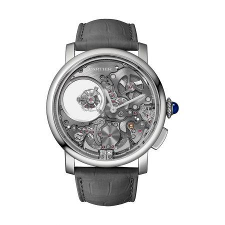 Rotonde de Cartier 三問雙重神秘陀飛輪腕錶 (PRE-SIHH 最新錶款)