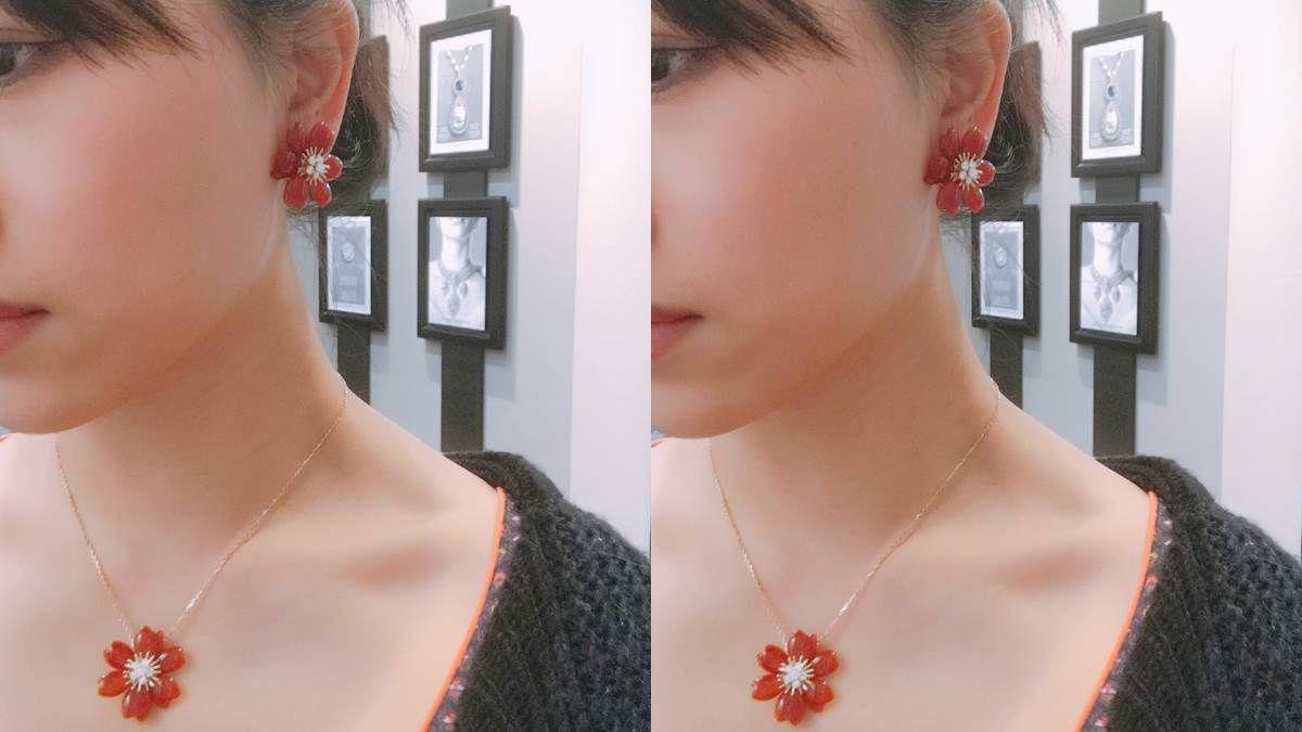 【試戴報告】Van Cleef & Arpels 「聖誕玫瑰」系列珠寶的各種可愛!紅玉髓、縞瑪瑙及青金石三種新風貌