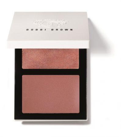 BOBBI BROWN清新柔光頰彩盤NT$1,900 #亮裸棕/乾燥玫瑰