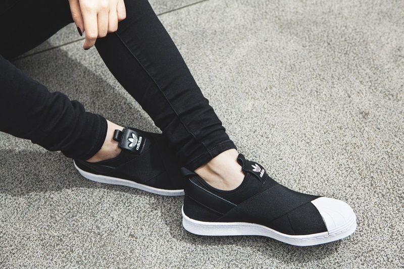 adidas Originals 人氣經典鞋款Superstar Slip On NTD3,290