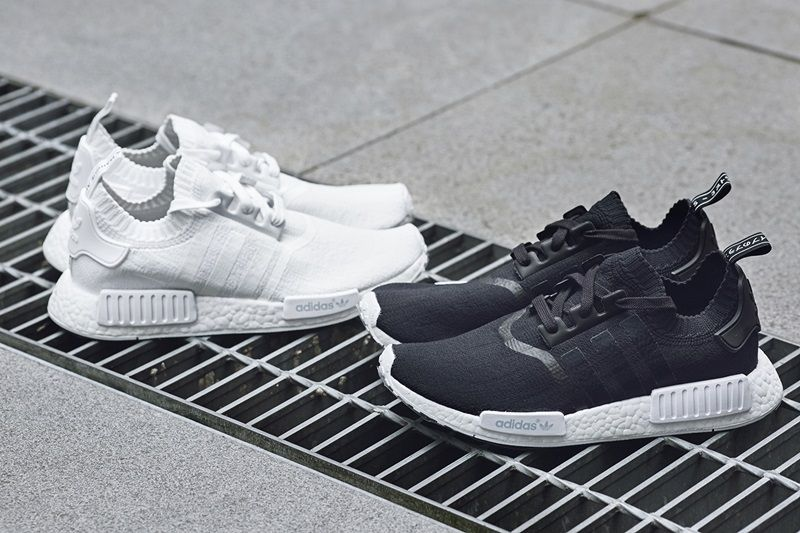 adidas Originals 時尚百搭經典黑白NMD_R1 PK NTD6,800(男女鞋款)