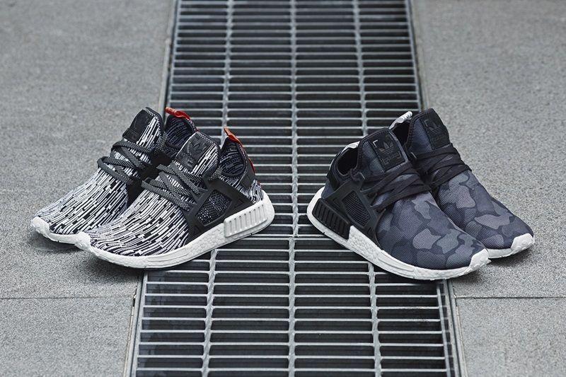 adidas Originals 高雄文橫經典門市限定獨賣 數碼黑白NMD_XR1 PK與黑迷彩NMD_XR1鞋款 NTD5,990(男性鞋款)