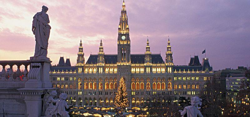 奧地利維也納聖誕市集2016年11月12日-2016年12月24日
