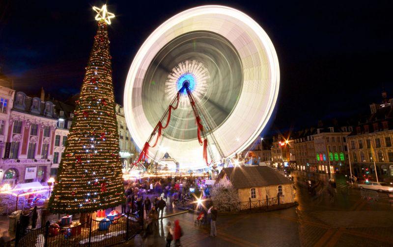 法國里耳聖誕市集2016年11月18日-2016年12月30日