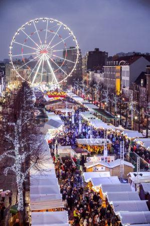 比利時布魯塞爾聖誕市集2016年11月25日-2017年01月01日