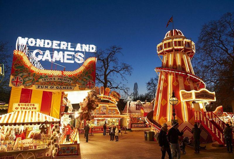英國倫敦聖誕市集2016年11月20日-2017年01月03日