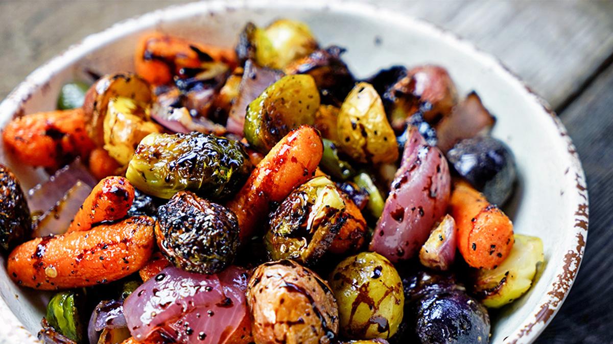 再忙也還是有時間做的極簡懶人料理:烤蔬菜