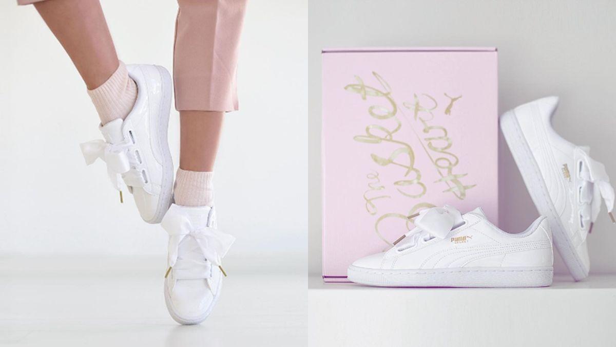 下一雙該追的夢幻球鞋!PUMA繫上蝴蝶結鞋帶,讓少女心都融化了
