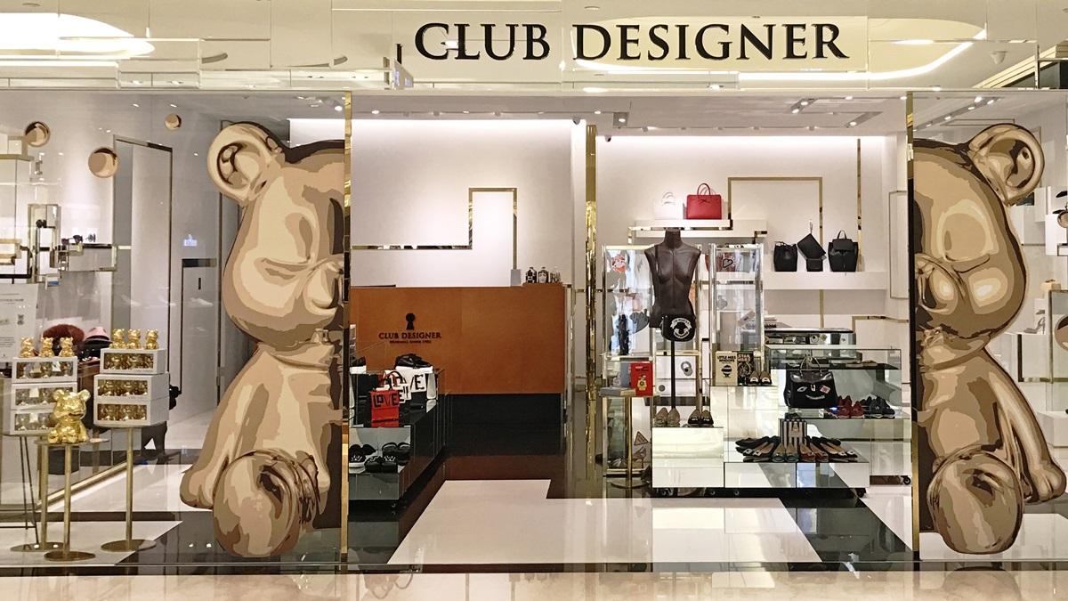 耶誕絲巾櫥窗超好拍!CLUB DESIGNER聖誕快閃店限時開幕