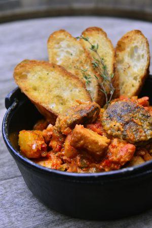 西班牙米血腸燉鮪魚鍋