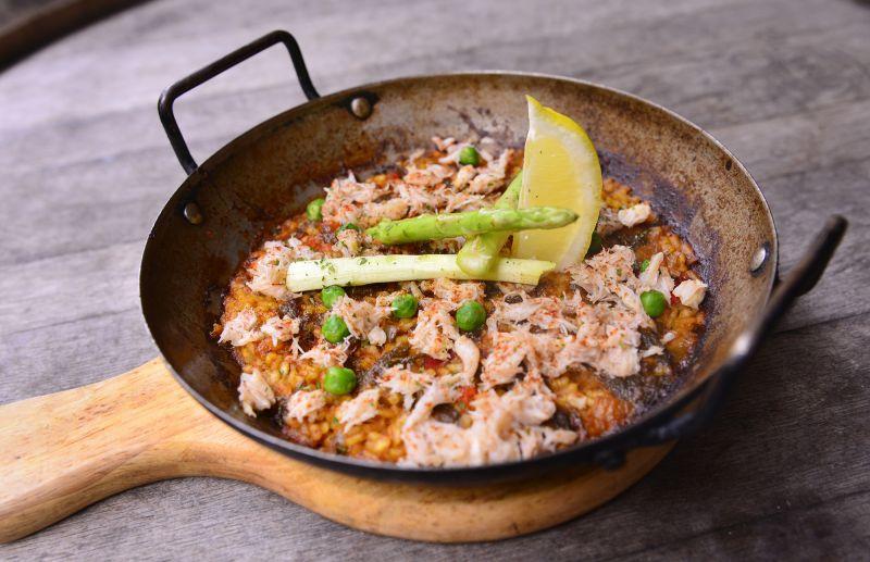 蟹肉風味烤飯
