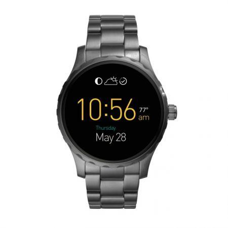 Fossil Q Marshal 觸控式螢幕配精鋼霧黑色錶帶(FTW2108),NT$11,400