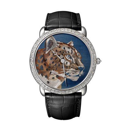 Ronde Louis Cartier火金工藝腕錶,Cartier