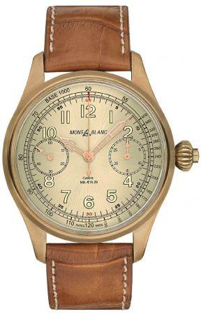 萬寶龍1858系列測速計時碼錶限量款