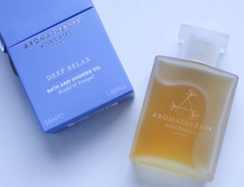 Aromatherapy Associatesdeep relax晚間舒緩沐浴油