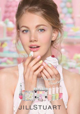 Jill Stuart吉麗絲朵2017春妝甜點主義彩妝系列。