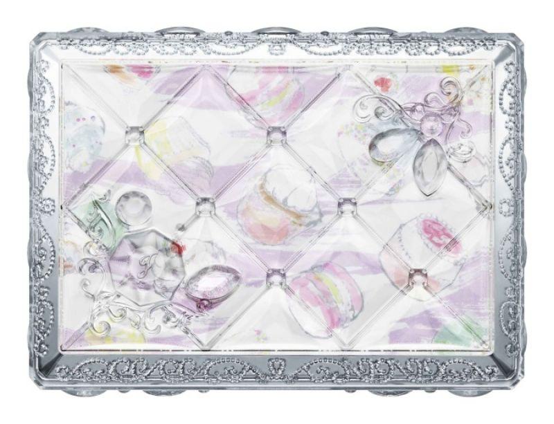 Jill Stuart吉麗絲朵繽紛糖磚眼彩盤(甜點主義)03 03 framboise & pistachio assort覆盆子和開心果,NT1,600
