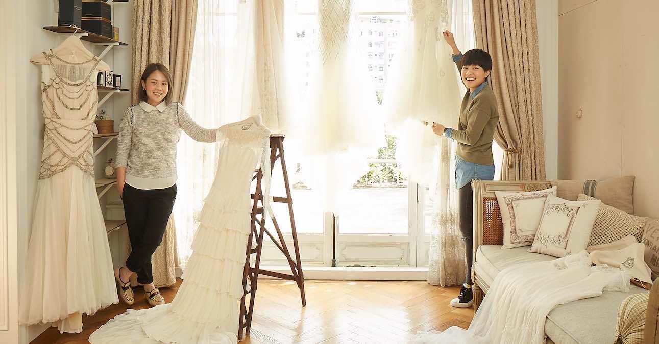 MS. IDEAS 新娘們的夢想:古董蕾絲訂製禮服