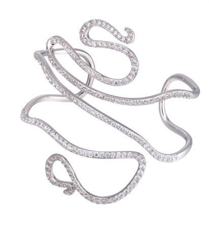 Air-Linger煙光燦影系列晶鑽手環 NT$32,000