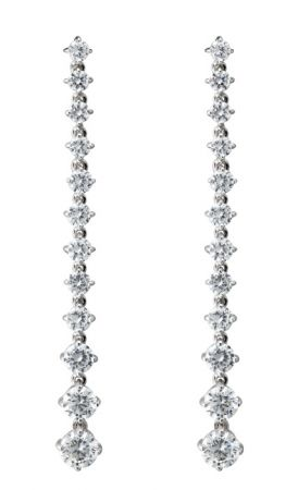 Air-Jet燭影成雙晶鑽耳環 NT$10,000