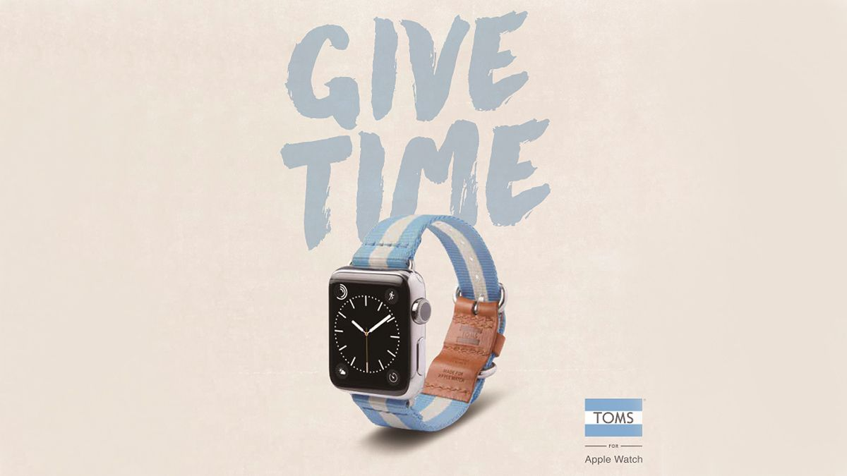 為弱勢族群點亮生活!TOMS Apple Watch錶帶再創公益新理念