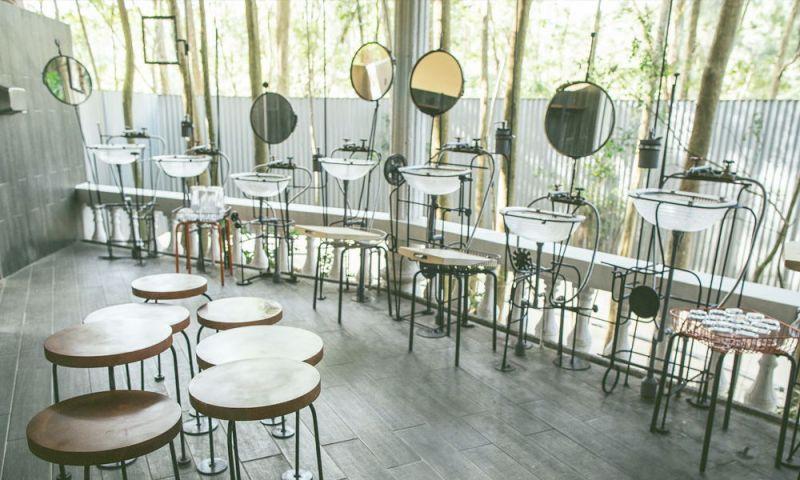 作品名稱:森林浴所,是藝術家陳建智的作品