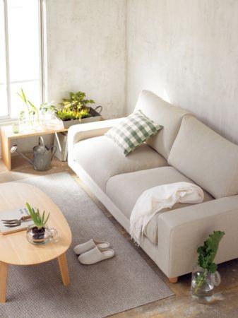 多款MUJI無印良品客廳沙發也將入住客房營造多款氛圍