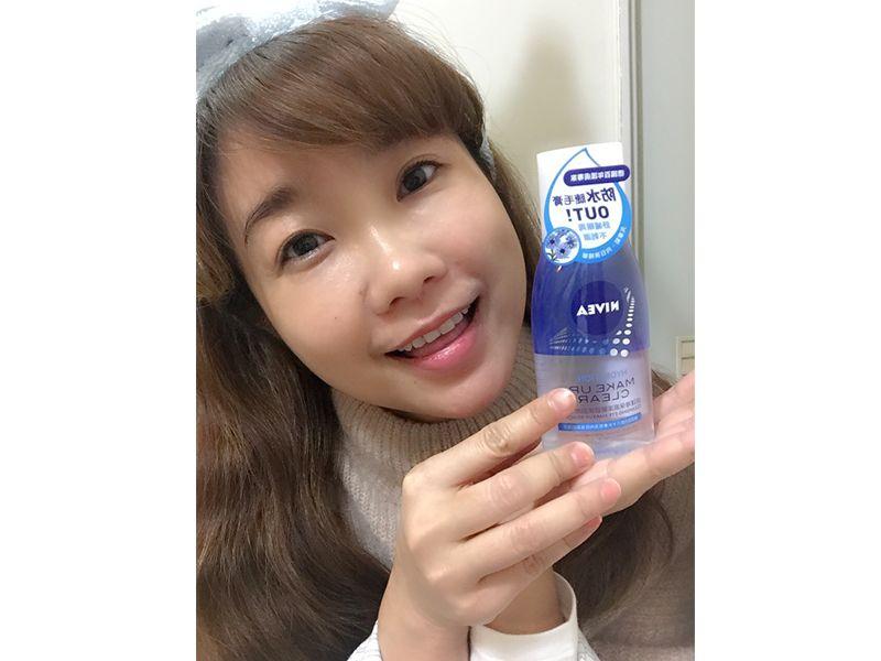 口碑超讚!防水型眼妝也能輕鬆卸除。