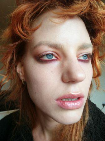 楓紅染上眼