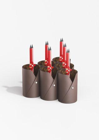 禮品系列筆筒與鉛筆組
