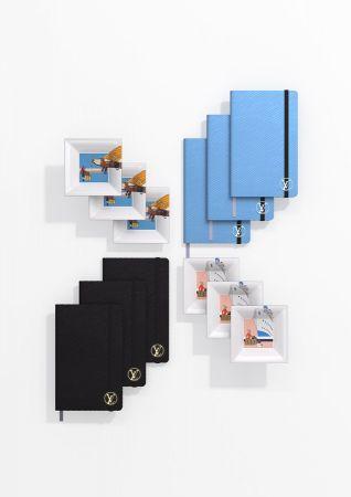 經典Épi皮革製作的筆記本,以及收納瓷盤。