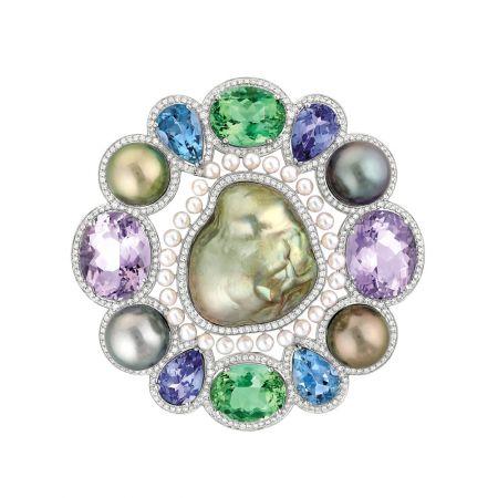 Perles Baroque Brooch,Chanel