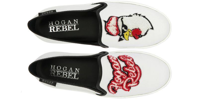 HoganREBEL卡通印花休閒鞋 $14,900