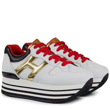 HoganH283撞色繫帶休閒鞋 $23,600