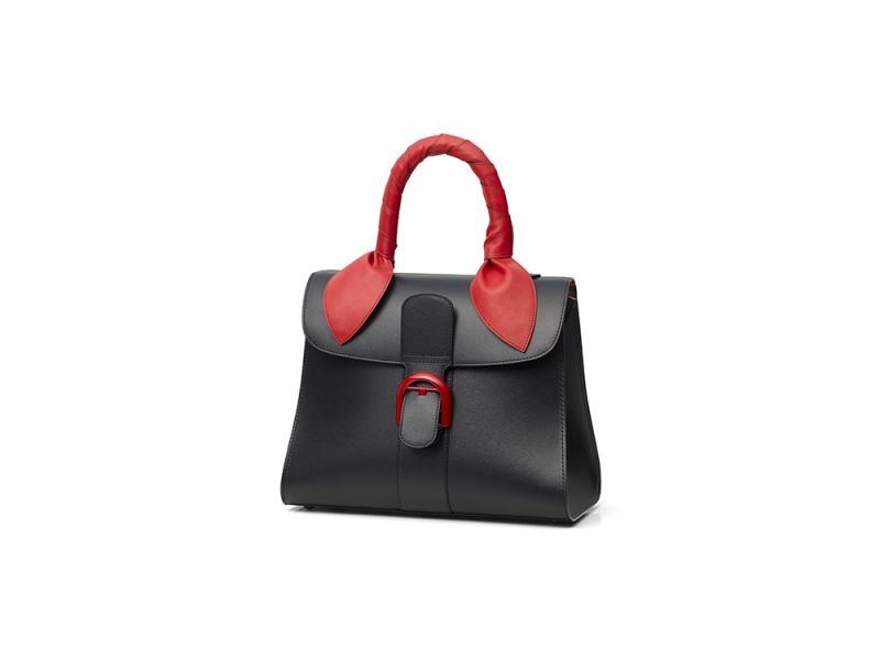 DelvauxBrillant Lunar 限量正紅中型手提包,價格未定