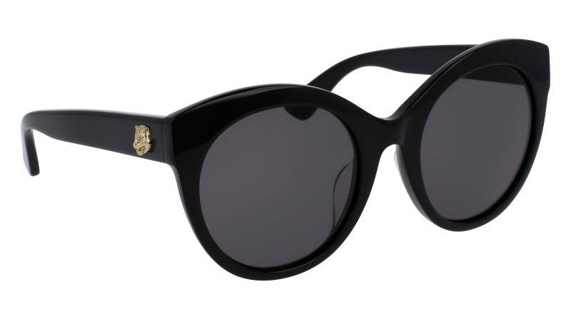 Gucci 貓眼造型太陽眼鏡,鏡架飾以老虎標識及標誌性雙G logo, 價格未定