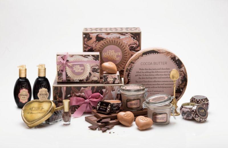 SABON情人節限定「愛戀巧克力系列」