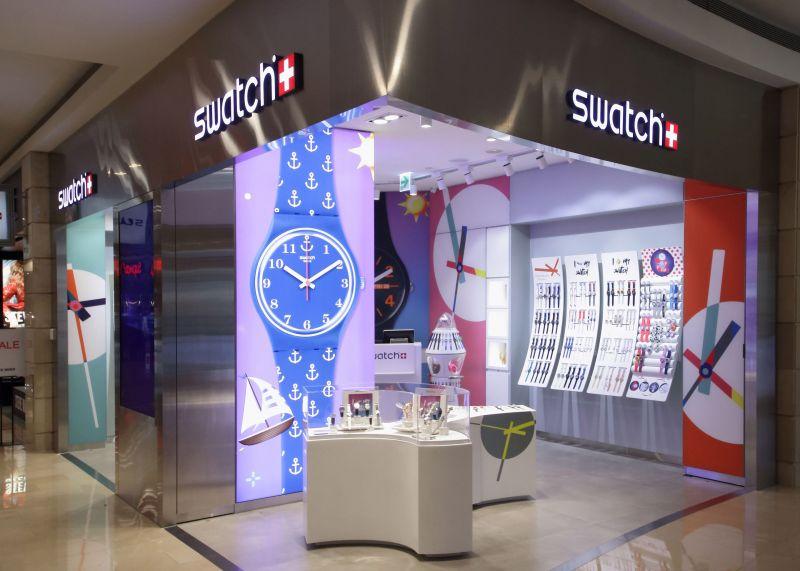SWATCH 101形象店開幕