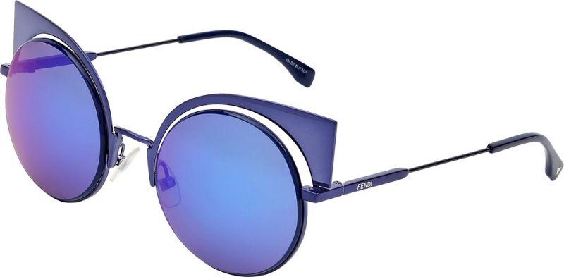 藍色貓眼造型墨鏡