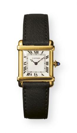 1922年,Tank Chinoise中國坦克腕錶-錶款設計吸取中國建築精髓